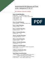 II Control de Mayores PC Antequera 07.01.12