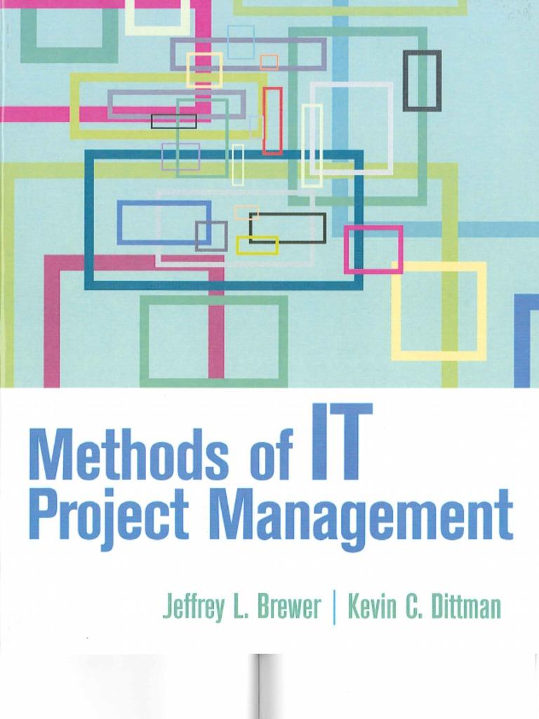 Methods of IT Project Management   Project Management   Risk Management