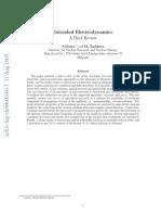 Extended Electrodynamics