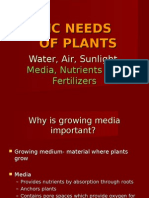 5-Basic Needs of Plants