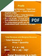 Total Rev & Total Cost