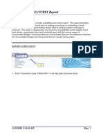 Short Guide Drill Down Fm a Vcr 01 Report