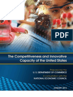 Competitiveness and Innovative Capacity of the US_USDOC