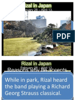 Rizal in Japan