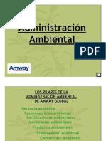 Amway administracion ambiental