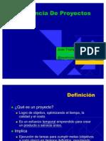 1 Introduccion a La Gerencia de Proyectos