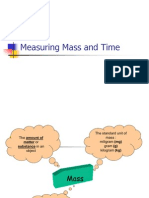 Measuring Mass and Time