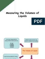 Measuring the Volumes of Liquids