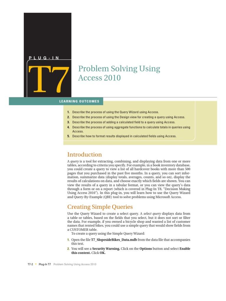 T7 - acces | Double Click | Information Retrieval