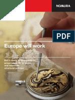 Nomura Report on Euro Breakup