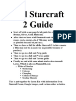 Full Starcraft 2 Guide