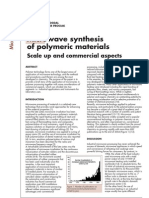 Dariusz Bogdal and Aleksander Prociak- Microwave synthesis of polymeric materials