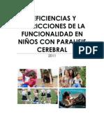 DEFICIENCIAS Y RESTRICCIONES DE LA FUNCIONALIDAD EN NIÑOS CON PARALISIS CEREBRAL
