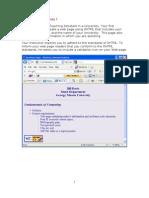 XHTML Case Study 1