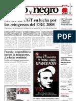 Rojo y Negro, nº 208, diciembre 2007