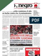 Rojo y Negro, nº 209, enero 2008
