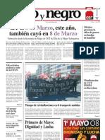 Rojo y Negro, nº 212, abril 2008