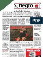 Rojo y Negro, nº 216, septiembre 2008