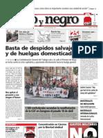 Rojo y Negro, nº 224, mayo 2009