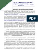 Pronunciamiento sobre las Encargaturas de Dirección y Cargos Jerárquicos
