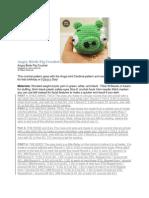 Angry Birds Pig Crochet