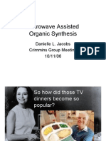 Danielle L. Jacobs- Microwave Assisted Organic Synthesis