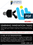 Learning Innovation Talks (LIT)