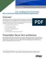 NetScaler 8 - Design Considerations