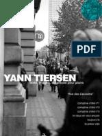 Partition.Partitura.Yann Tiersen - Pièces Pour Piano Vol 1 Et 2  Divers