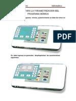 Parametrización del programa Mónica Carlos Guerrero
