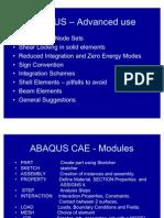 ABAQUS Advanced y09