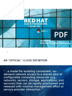 Red Hat Cloud 101