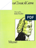 46555017 MOZART Mozart for Classical Guitar