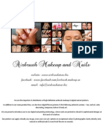 Catalog Airbrush Makeup