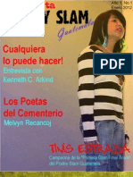 Poetry Slam Guatemala Issue 01