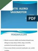 Rinitis Alergi Vasomotor