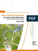 Plan National d Actions Odonates