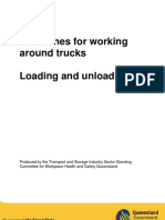Guidelines Working Around Trucks