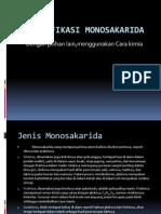 identifikasi Monosakarida