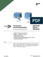 actuador siemens SQL33.00