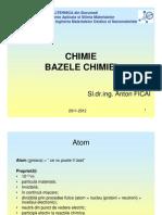 Curs 02 - Bazele Chimiei Chimie