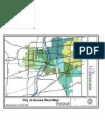 City of Aurora Illinois Ward Map