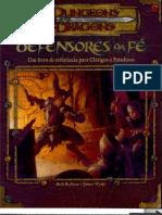 Livro Defensores da Fé D&D 3.5