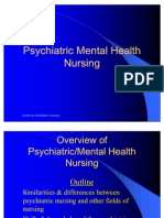 Overview of Psychiatric Nursing