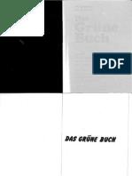 Gadaffi - Das Grüne Buch