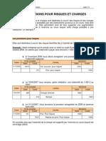 6. Les Provisions Pour Risques Et Charges