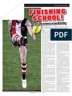 Inside Football - The art and science of goalkicking