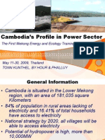 Cambodia Profile in Power Sector