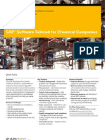 SAP Software Tailored for Chemical Companies