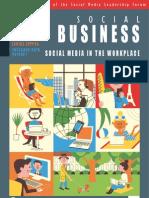 Social Business magazine - Q4 2011 - Quarterly magazine of the Social Media Leadership Forum